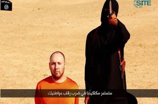 A Briton is 'next': 'Jihadi John' threatens third hostage in Steven Sotloff beheading video