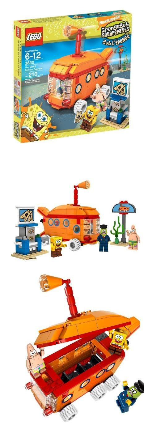 LEGO SpongeBob SquarePants Bikini Bottom Express, All aboard for new adventures with SpongeBob SquarePants, Patrick, and the Bikini Bottom Express., #Toys, #Building Sets