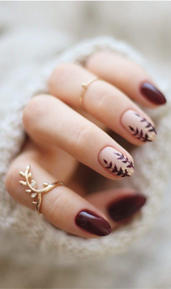 60 Best Winter Nail Art Ideas 2019 Page 7 of 63 Christmas