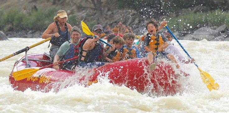Whitewater Rafting in Yellowstone Best Family Vacation Packages