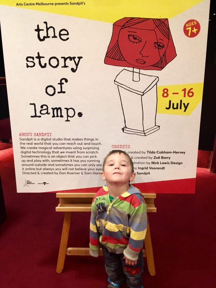 The Story of Lamp is a charming interactive adventure at Arts Centre Melbourne that is certain to 'light' up your day!