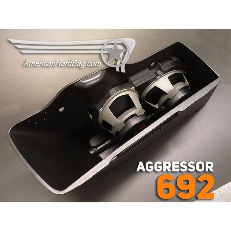 Aggressor 692 Harley 6x9 Kit for Harley Davidson Saddlebags