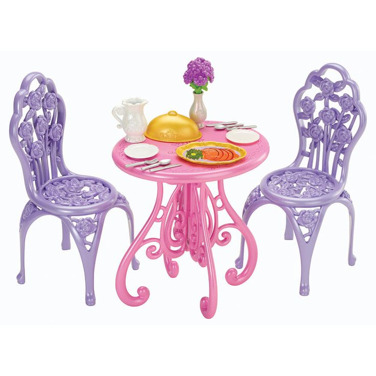 disney princess royal dining room set
