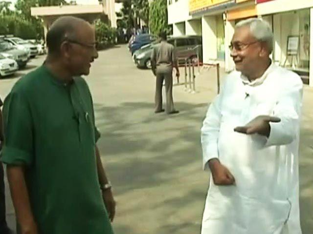 Nitish Kumar's First TV Interview After Winning Bihar Election  http://www.ndtv.com/video/player/walk-the-talk/nitish-kumar-s-first-tv-interview-after-winning-bihar-election/413014