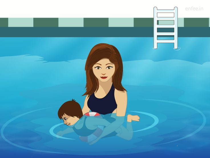 How to help your child overcome the fear of swimming