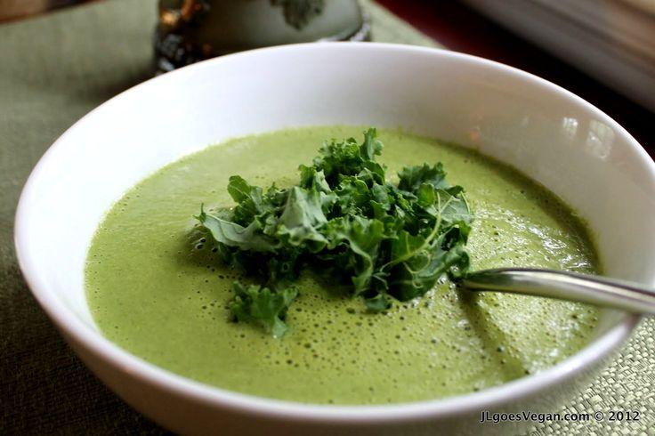 Creamy Kale Miso Soup...yum!
