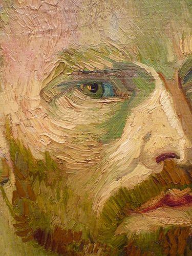Vincent van Gogh : Prefiro este tipo de Selfie -  Dedicado a Paul Gauguin, 1888