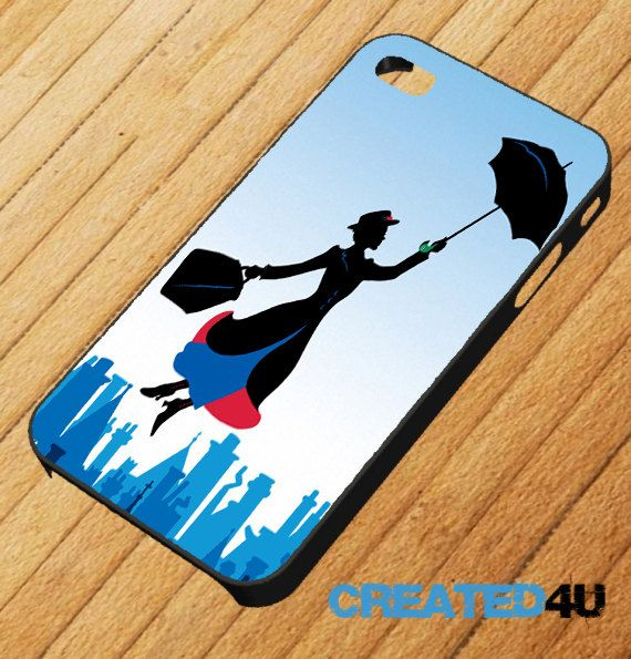 Disney Mary Poppins iPhone 4/4S & iPhone 5 Mobile Phone Case. £6.95, via Etsy.