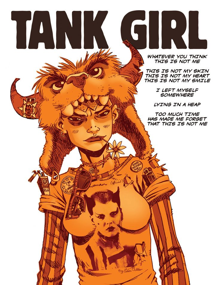 Tank Girl Quotes New 125 Best Tank Girrrl Images On Pinterest  Comics Comic Books And