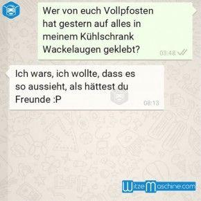 Lustige WhatsApp Bilder und Chat Fails 164 - Wackelaugen