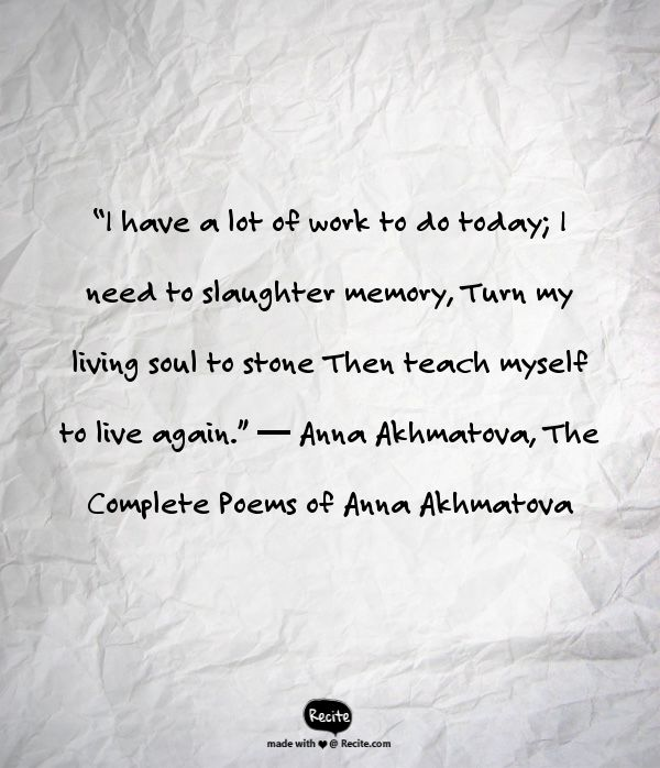 I Need To Work On Myself Quotes: 17 Best Ideas About Anna Akhmatova On Pinterest