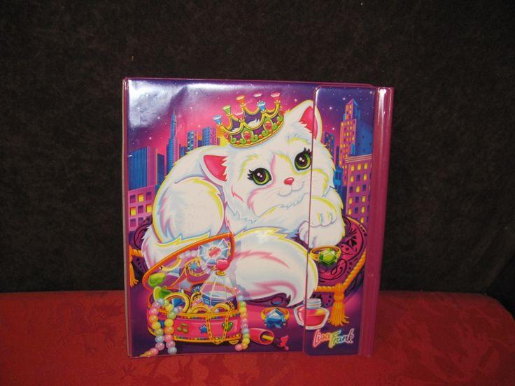 Vintage Lisa Frank Cat Cats Kittens Feline Princess Trapper Keeper Binder | eBay