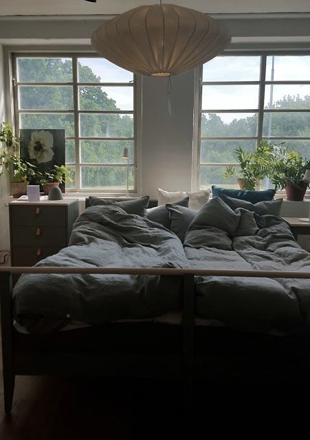 Inredningsbloggen : Piazzan Foto : Pernilla.N  #sovrum #bedroom #norrgavel