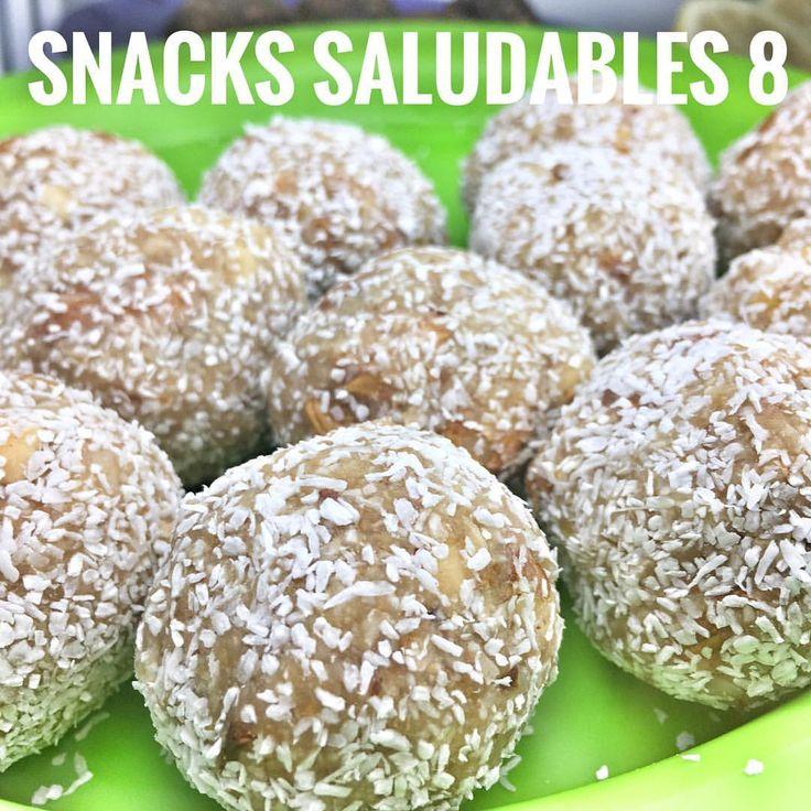 (@mamasanablog)  snacks saludables.