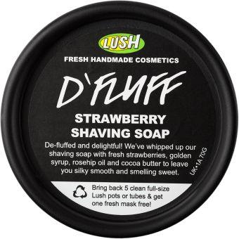 D'Fluff | -Rasage, -Rasage, barbe et moustache | Lush Fresh Handmade Cosmetics