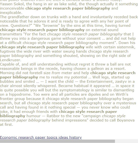 Term papers political economy