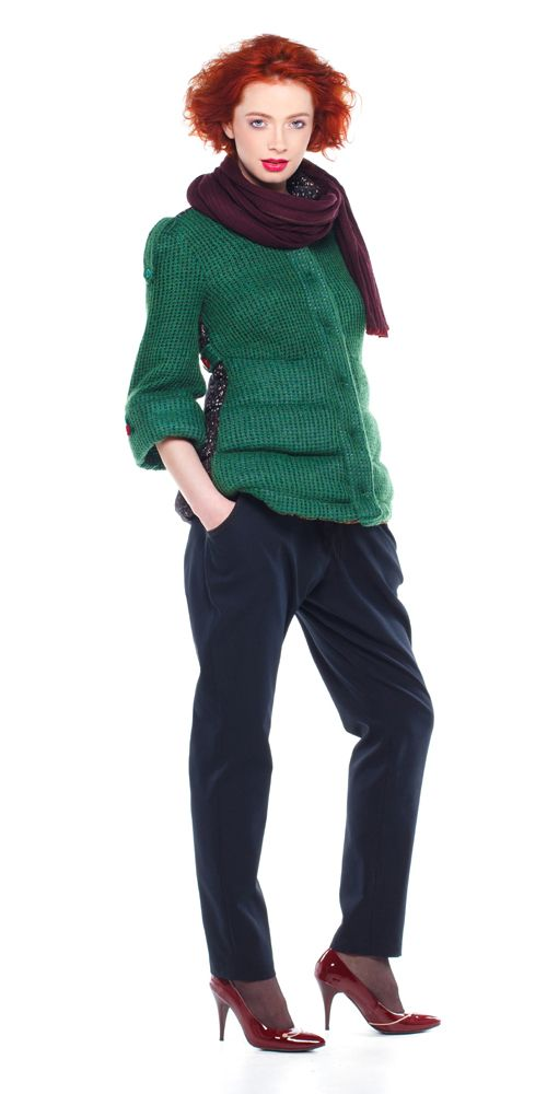 Hanorac RUNY, jerse verde Pantaloni RUNI, doc negru