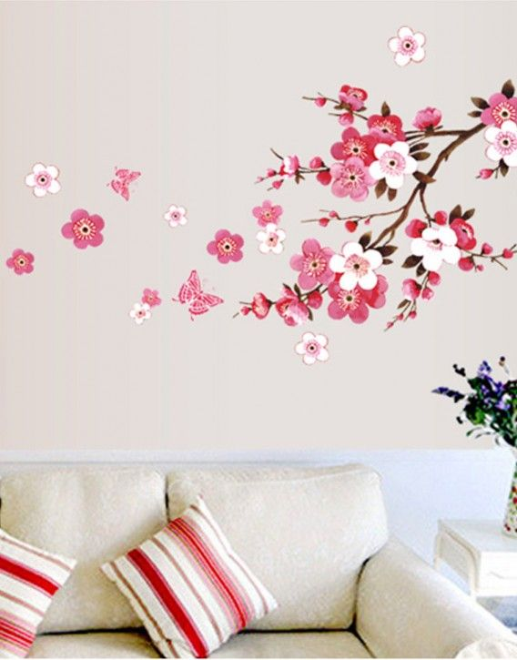 Sakura Flower Wall Sticker