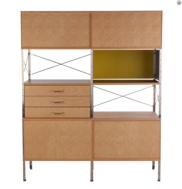 Eames storage unit - it's a classic!
