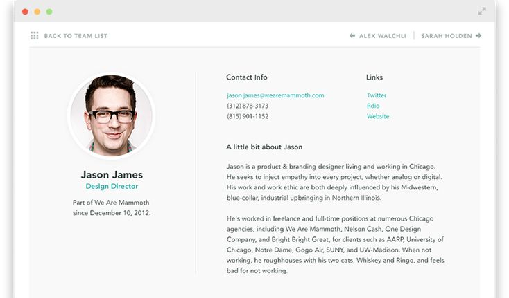 Staff bio page Kin