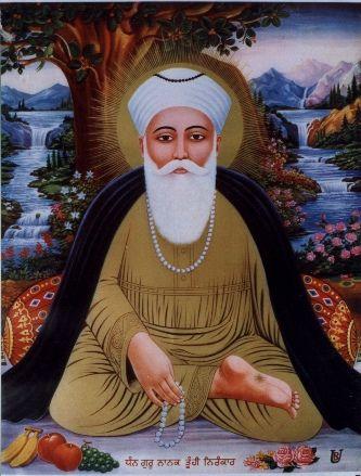 Guru Nanak (1469-1539), the founder of the religion of Sikhism and the first of the eleven Sikh Gurus, the eleventh being the living Guru, Guru Granth Sahib. Wikipedia