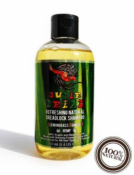 Super Dread Residue Free Natural Dreadlock Shampoo - Hemp, Lemongrass & Ginger - Anti Dandruff + Dry scalp, 100% Vegan, 100% Natural, No synthetic chemicals, UK Natural Dreads locs Shampoo, Handmade Organic Dreadlocks Shampoo, Super Dread Dreadlocks Review Dreadlockshampoo Dreadshampoo superdread natural dreadlock shampoo, natural dread shampoo, liquid dreadlock shampoo, biodegradable shampoo, Hemp Shampoo, Lemongrass, Ginger, Dreadlock Dry scalp treatment , natural psoriasis treatment…