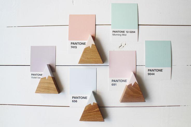 pantone & wooden mountains by manufaktura milo