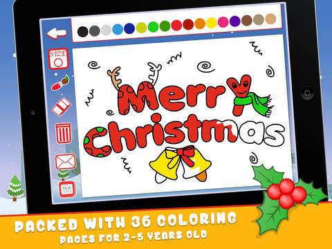 Christmas Coloring Book for Kids Free by Sachin Sachdeva