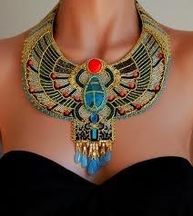 ACCESORIO DE MUJER EGIPCIA