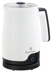 Features/Specifications Product code: RHMF04 220-240v 50hz 400W 60cm cord length Self heat function Quiet operation Luminous pilot light switch Quick foaming in under 90 seconds Cord-free pitcher with power base Non-stick coating for easy cleaning Interchangeable paddles for whipping and stirring