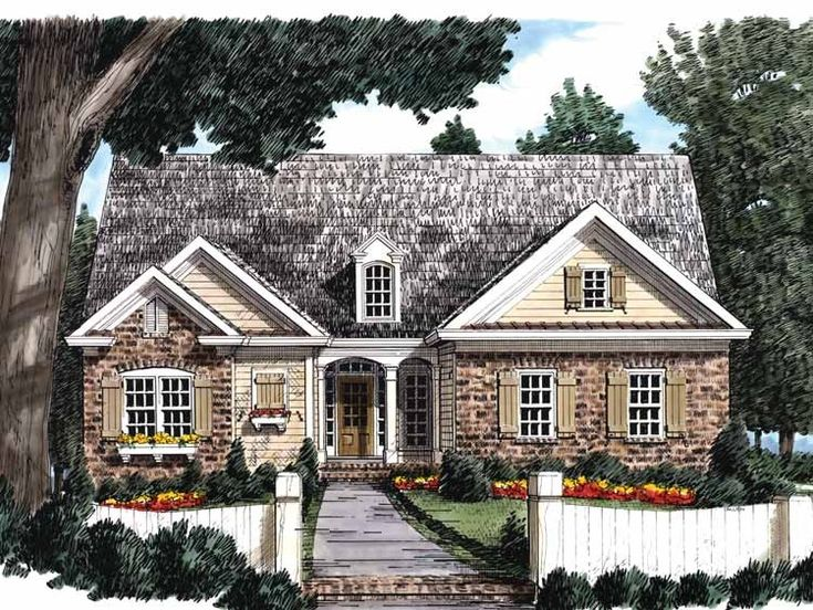 Eplans Cottage House Plan Pure Delight