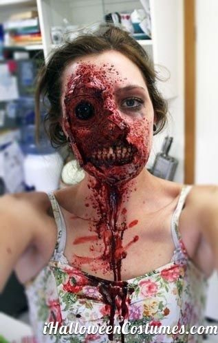 110 best Zombies images on Pinterest | Make up, Fx makeup and ...