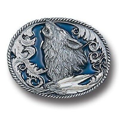 Pewter Belt Buckle - Howling Wolf with Feathers Siskiyou, http://www.amazon.com/dp/B000U8EZEY/ref=cm_sw_r_pi_dp_NPBOqb13AD9H6