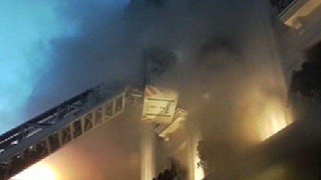 SON DAKİKA   İstanbul'da otelde yangın faciası