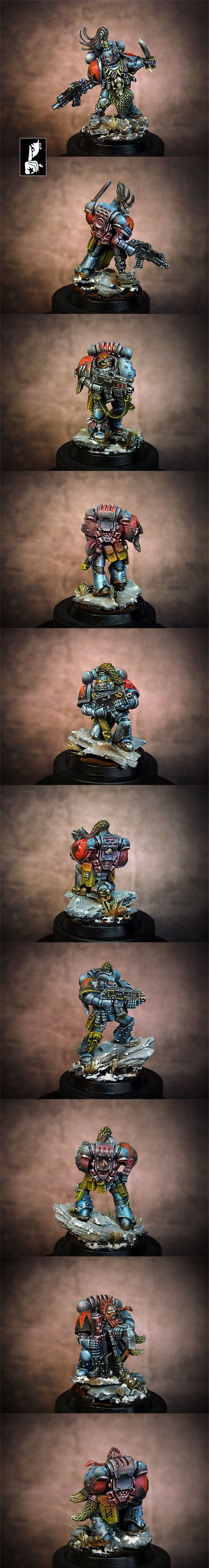 40k - Space Wolves Grey Hunters Squad by Silence