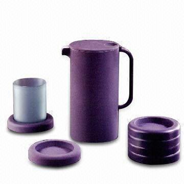 Acrylic Large Round Coasters. Purple KitchenDrink ...