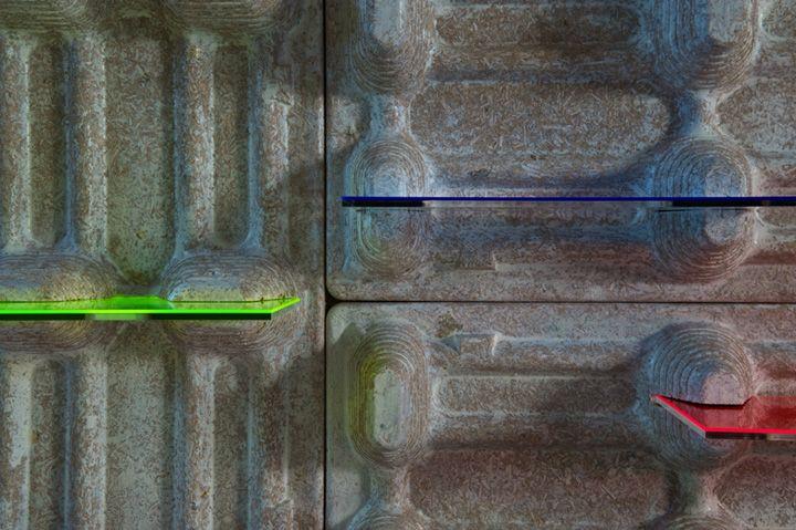La Paletta wall panel system by KDOMAZIDLIBYDLI