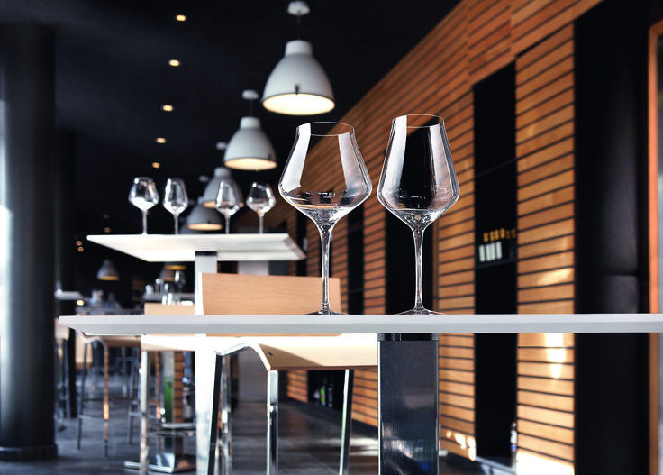 Les verres à pied REVEAL'UP by Chef&Sommelier
