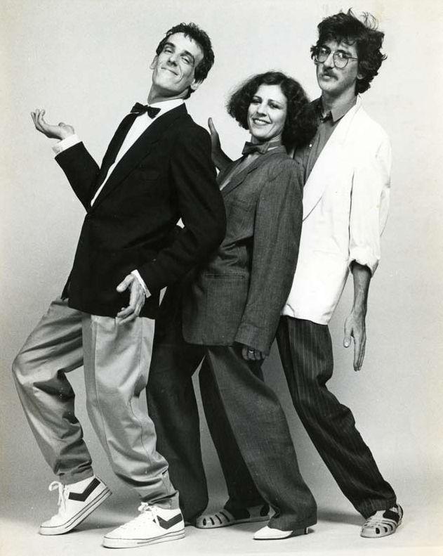 Luisito, Renata Schussheim y Charly. Foto de Jorge Fisbein. From: http://www.bn.gov.ar/spinetta3.pdf