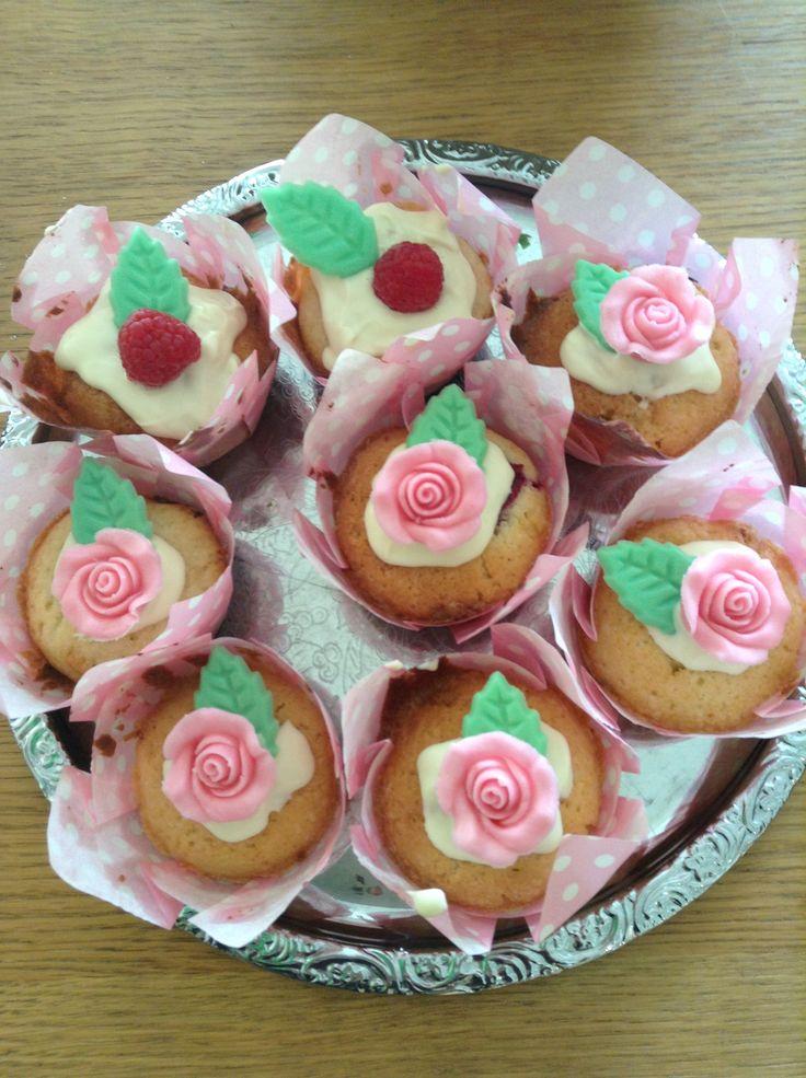 Whitechocolate muffins. #muffins #party #chocolate
