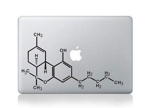 chemistry macbook  decals macbook pro decal  by oliviabeauty, $8.99