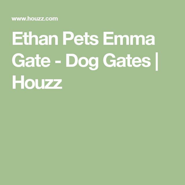 Ethan Pets Emma Gate - Dog Gates | Houzz