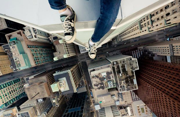Wow!  #Rooftopping