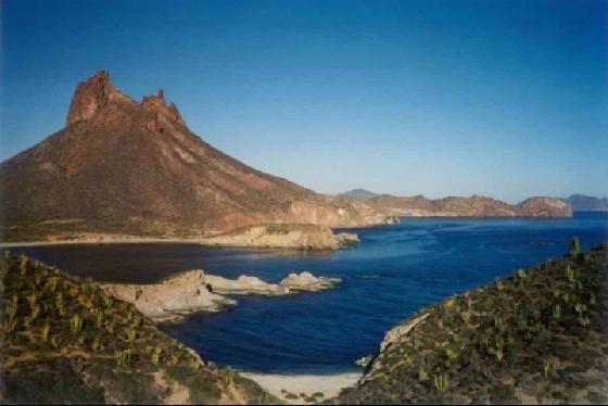 Segun National Geographics la vista mas bella es la del mirador de San Carlos, Guaymas, Sonora, Mexico