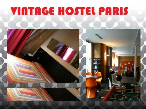 L'ostello Vintage Hostel a #Parigi...il nome dice tutto! ;)