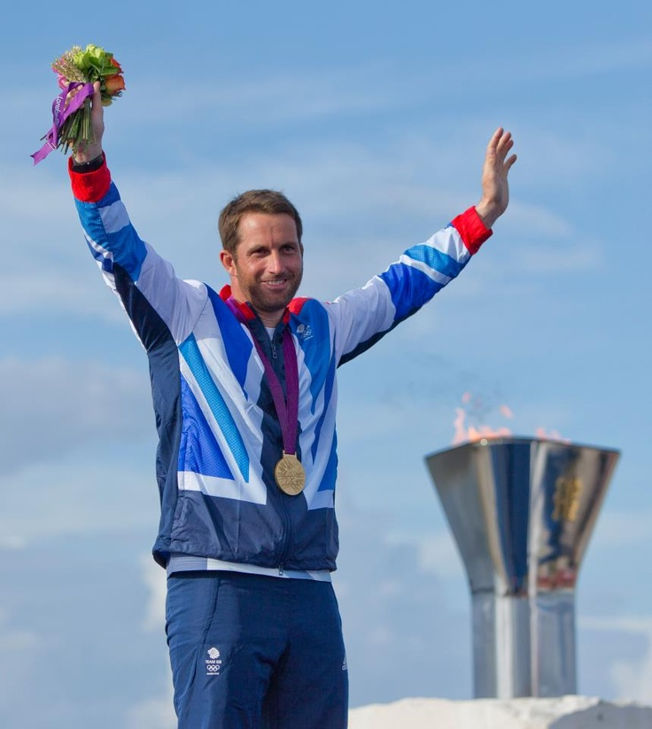 The British sailor Ben Ainslie sails into history after winning his 5th Olympic medal.