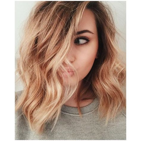 60 Stunning Shades of Strawberry Blonde Hair Color ❤ liked on Polyvore featuring beauty products, haircare and hair color