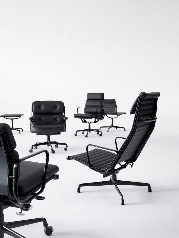 Eames In Black #pin_it #design @mundodascasas See More Here:  Www.mundodascasas