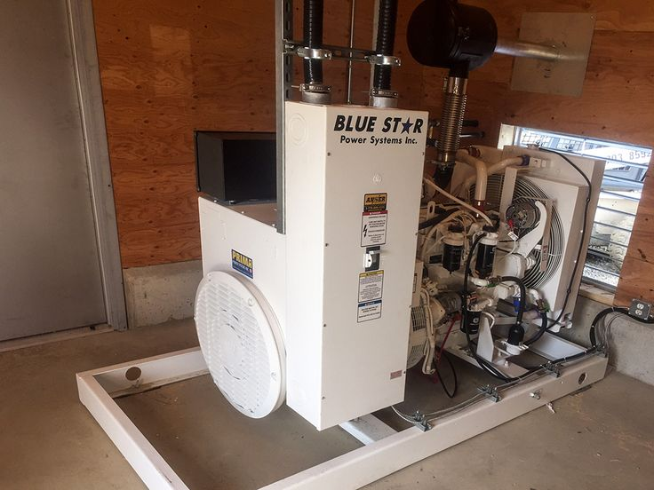 PRIMA supplied and Anser Power System Servicing installed a new Blue Star JD125 as stand by power for a broiler farm in sunny #Chilliwack, BC! #generators #powersystems