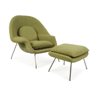 Products | Vertigo Interiors USAOlive Green Cashmere Womb Chair   Inspired  By Designs Of Eero Saarinen